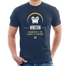 Winston Imagination Is The Essence Of Discovery Overwatch Men's T-Shirt