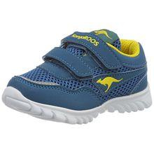 KangaROOS Unisex-Kinder Inlite 3003B Sneaker, Blau (Blue/Acid Yellow), 21 EU