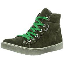 Ricosta Zaynor, Unisex-Kinder Hohe Sneakers, Grün (timo 560), 33 EU (1 Kinder UK)