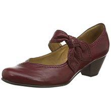 Gabor Damen Basic Pumps, Rot (Dark Red Leather), 40 EU