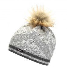 Eisbär - Women's Dalia Lux Crystal MÜ - Mütze Gr One Size grau;schwarz/grau