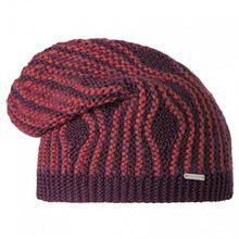 Stöhr - Krus - Mütze lila/rot/schwarz;grau