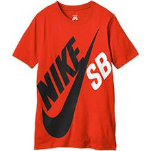 Nike SB Jungen, T-Shirt, Nike SB Big Logo, GR. 158 (Herstellergröße: 12/13 Years), Orange (university Orange)