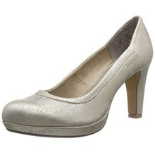 Bugatti V4962PR6N, Damen Plateau Pumps, Beige (Beige Gold 259), 40 EU (6.5 Damen UK)