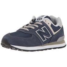 New Balance Unisex-Kinder Gc574v1g Sneaker, Marineblau/Grau, 35.5 EU