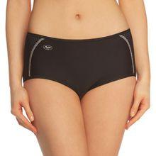 Anita Active Damen Slip, 1627 Sport-Panty, Gr. 46, Schwarz (schwarz 001)