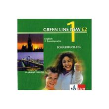 Green Line New (E2): 2 Schülerbuch-Audio-CDs, 1. Lernjahr Bd.1 Hörbuch