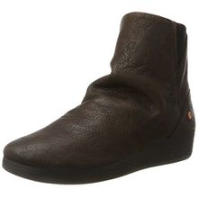 Softinos Damen AYO411SOF Smooth Stiefel, Braun (Dk Brown), 39 EU