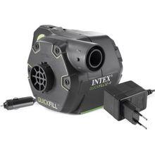 Intex elektrische Pumpe mit wiederaufladbarer Batterie, Pumpleistung 650 l/min schwarz
