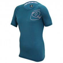 Qloom - Lismore Technical Shirt S/S - Radtrikot Gr S;XS rot;blau