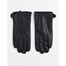Only & Sons – Handschuhe aus Kunstleder-Schwarz