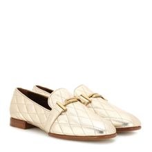 Gesteppte Loafers Double T