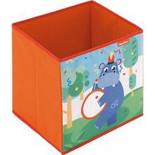 Fisher Price Aufbewahrungsbox Nilpferd, faltbar, 31 x 31 cm