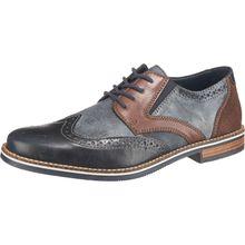 rieker Business Schuhe blau-kombi Herren