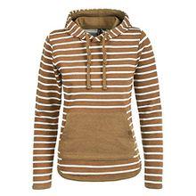 Blend She Carina Damen Hoodie Kapuzenpullover Pullover Mit Kapuze, Größe:L, Farbe:Dark Mustard (75116)