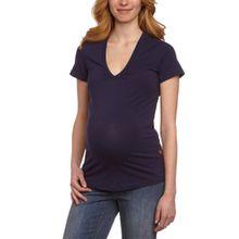 Noppies Damen Umstandsmode/Shirt & Top 60104, Gr. 44 (XXL), Blau (30 navy)