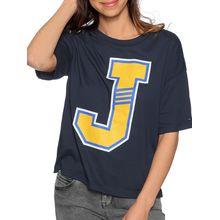 Tommy Jeans T-Shirt in blau für Damen