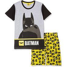 Lego BATMAN Jungen Zweiteiliger Schlafanzug 79207, Jaune (Jaune), 10 Jahre
