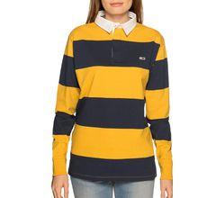 Tommy Jeans Poloshirt in gelb für Damen