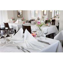 Tischdecke Weiß 127x180 Kommunion Konfirmation Hochzeit Taufe Geburtstag Tischdeko