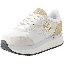 Guess Damen Footwear Active Lady Sneaker, Wei (White White), 39 EU