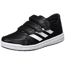 adidas Unisex-Kinder AltaSport CF Sneakers, Schwarz (Core Black/Footwear White), 38 EU