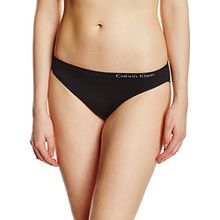 Calvin Klein Damen Slip, Schwarz (Black 001), 36 (Herstellergröße: S)