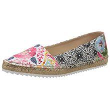 Desigual Shoes_Gabriela 1, Damen Geschlossene Ballerinas, Schwarz (2000 Negro), 36 EU (6 Damen UK)