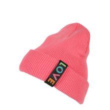EDC BY ESPRIT Beanie 'Love Turn' pink