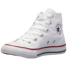 Converse Chuck Taylor All Star, Unisex-Kinder Hohe Sneakers, Weiß (Optical White), 34 EU