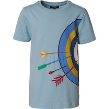 T-Shirt , Organic Cotton hellblau Jungen Kinder