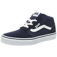 Vans Unisex-Kinder Chapman Mid Sneaker, Blau (Suede/Canvas), 35 EU