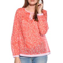 Milano Blusenshirt in orange für Damen