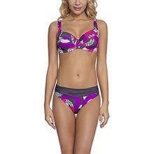 Feba Figurformender Damen Bikini FR3D1 (Muster-17DK, Cup 80 G/Unterteil 40)