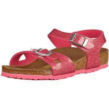 Sandalen mit verstellbaren Riemchen  pink Mädchen Kinder