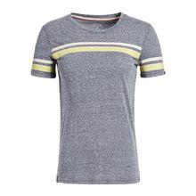khujo T-Shirt JAHA PRINTED STRIPES T-Shirts dunkelblau Damen