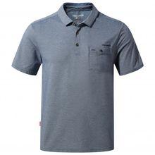 Craghoppers - NosiLife Gilles Short Sleeved Polo - Polo-Shirt Gr L;M;S;XL;XXL rot;schwarz