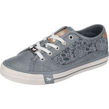 MUSTANG Sneakers Low blau Damen