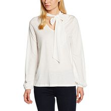 CINQUE Damen Langarmshirt Cithekla, Weiß (Creme 02), Small