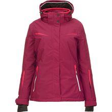 KILLTEC Skijacken Carol - Funktionsjacke mit abzippbarer Kapuze und Schneefang violett Damen
