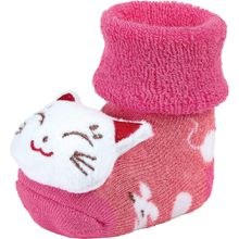 Sterntaler Baby-Rasselsöckchen - Katze