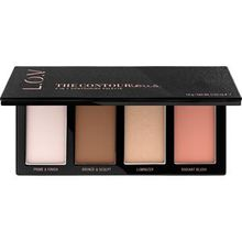 L.O.V Make-up Teint The Contourious 4 in 1 Contouring Palette 18 g