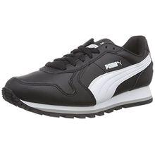 Puma ST Runner Full L, Unisex-Erwachsene Sneakers, Schwarz (Black-White 01), 44 EU (9.5 Erwachsene UK)