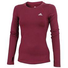 Adidas Techfit Climawarm Women's Laufhemd - AW15 - Gross