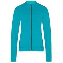 TAO Sportswear Damen Freizeitjacke aus Bio-Baumwolle NADA Sweatjacken türkis Damen