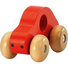 Holz-Auto, rot