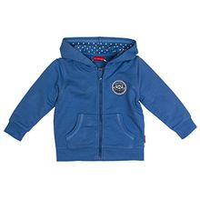 SALT AND PEPPER Baby-Jungen Jacke B Jacket Pirat Kap. Uni, Blau (Blue Melange 448), 92