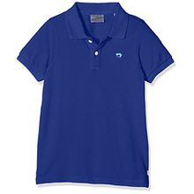 Scotch & Soda Shrunk Jungen Poloshirt Garment Dyed Pique Polo, Blau (Cobalt 090), 176 (Herstellergröße: 16)