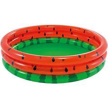 Planschbecken Wassermelone rot/grün