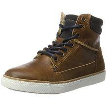 BULLBOXER Jungen AGM508E6L Chelsea Boots, Braun (Cognac), 35 EU